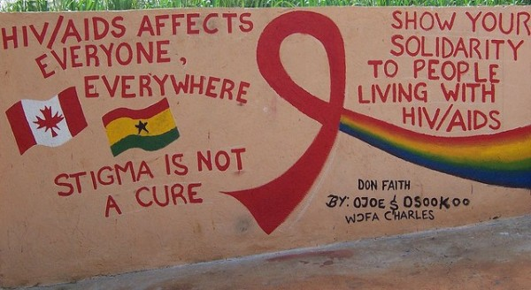YMCA-YCI HIV/AIDS mural (Photo: YCI Canada / flickr)